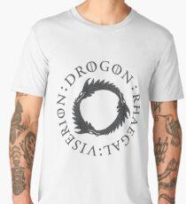 Game of Thrones Three Dragons  Men's Premium T-Shirt