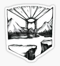 Nature Book Sticker