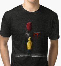 IT - Movie Poster 2017 Tri-blend T-Shirt
