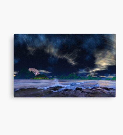 Campfire Views - a sequel. Canvas Print