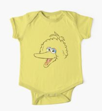 Big Bird Face Kids Clothes