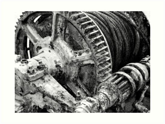 Rusty machinery by Gaspar Avila