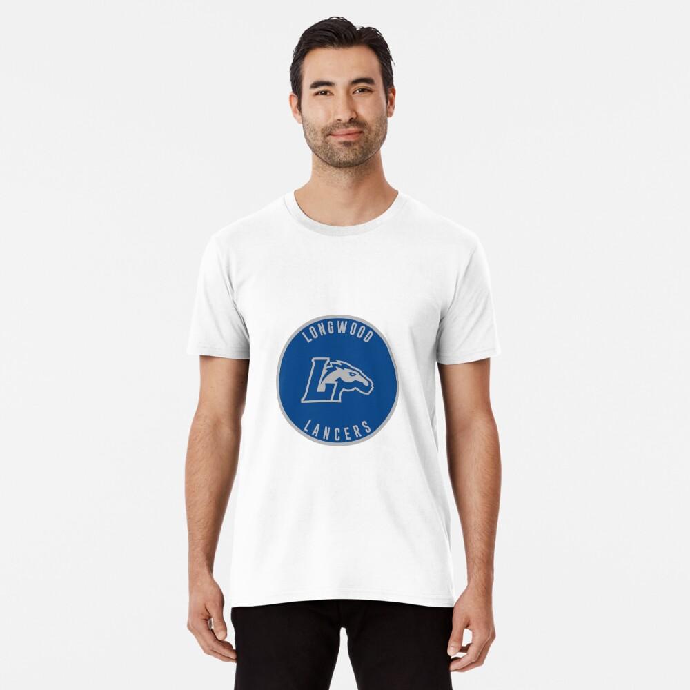Longwood University - Lancers Men's Premium T-Shirt Front