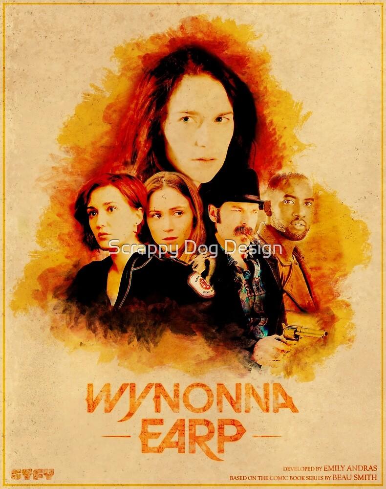 Wynonna Earp Western Style Cast Poster #2 by Chantal Zeegers