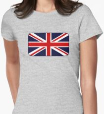 Union Jack Flag of the UK Women's Fitted T-Shirt