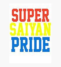 SUPER SAIYAN PRIDE T-shirt - Cena Hustle Loyalty Respect PARODY Photographic Print