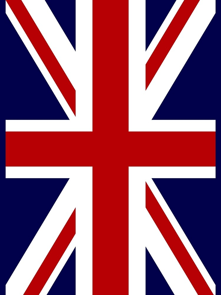 Union Jack Flag of the UK by JerryWLambert