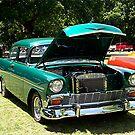 1956 Chevrolet Del Ray 2 Door by Glenna Walker