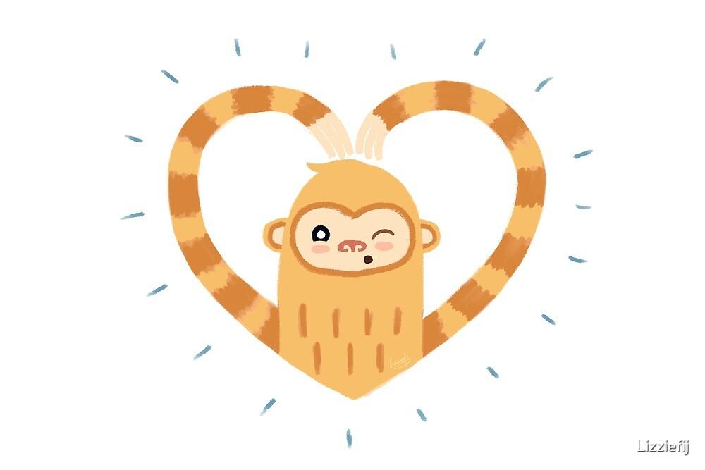 Valentine Slothmonkey by Lizziefij