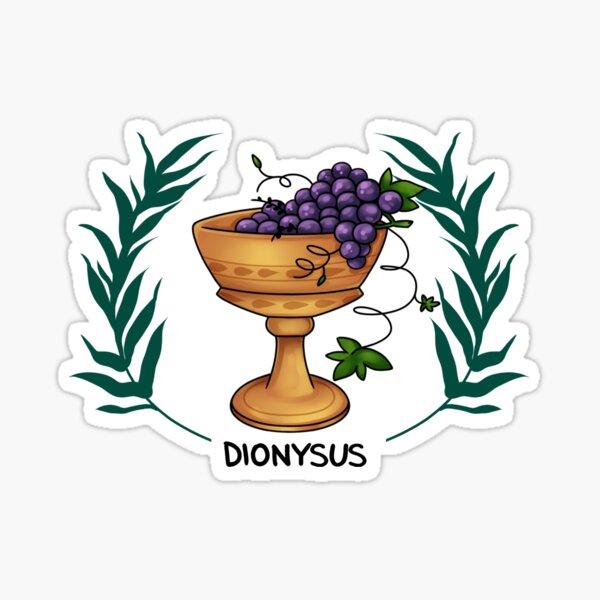 Dionysus Inspired Cabin Symbol Sticker