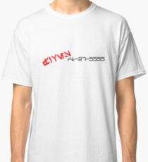 CT-27-5555 FIVES Aurebesh. Classic T-Shirt