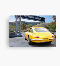 1965 Apollo 3500 GT II 'Rear' Canvas Print