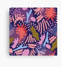 Tropical Party Canvas Print