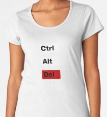 CTRL ALT DEL Women's Premium T-Shirt