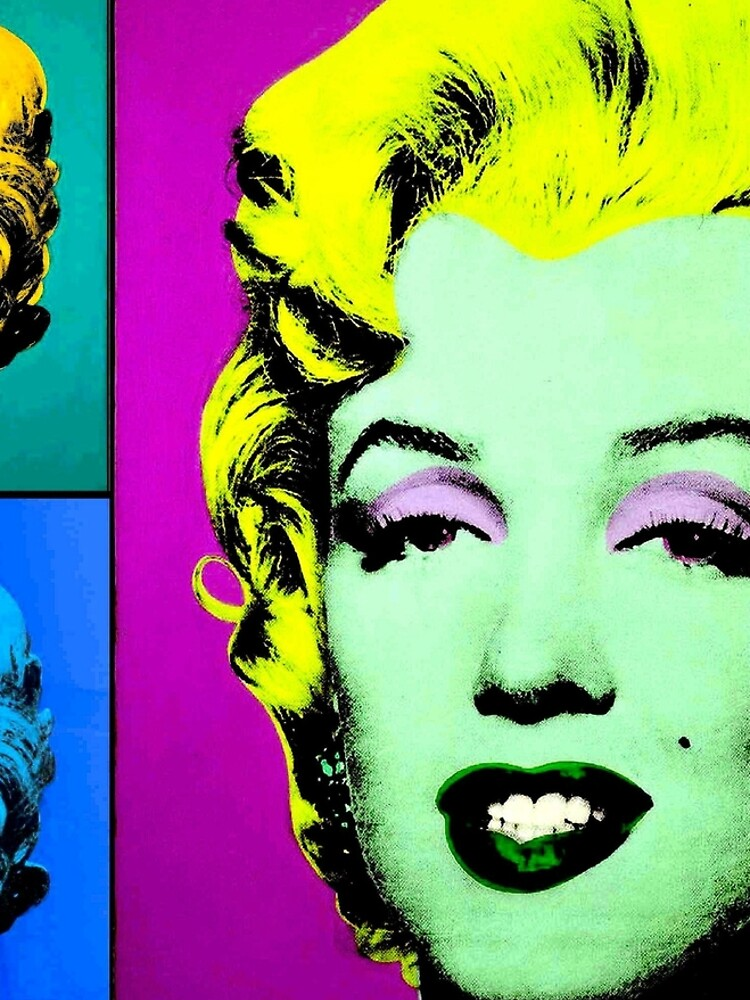 MARILYN : Vintage Fantasy Warhol. by posterbobs