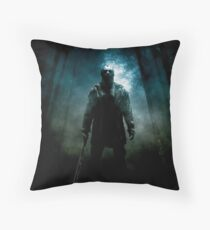 Friday The 13th Movie Poster (2009) Throw Pillow
