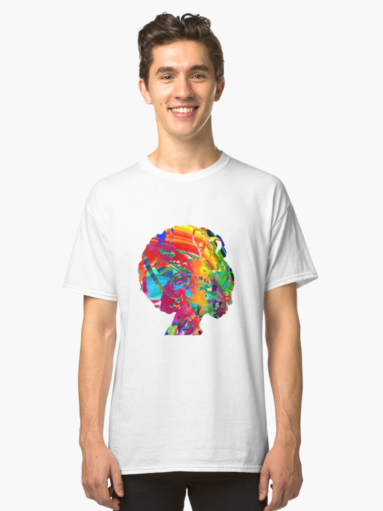 Colorful Lady T-Shirt Classic T-Shirt Front