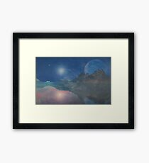 AV Challenge (A Collaborative with AlienVisitor) Framed Print