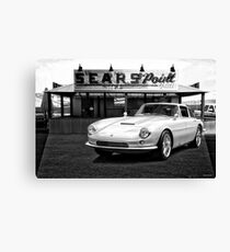 1965 Apollo 3500 GT III BW Canvas Print