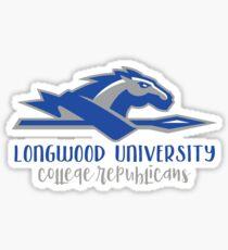 Longwood University - College Republicans Sticker