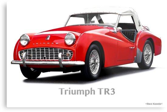 1958 Triumph TR3 Roadster by DaveKoontz