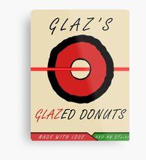 Glaz's Glazed Donuts Metal Print