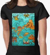 Sea Beasts and Sub T-Shirt