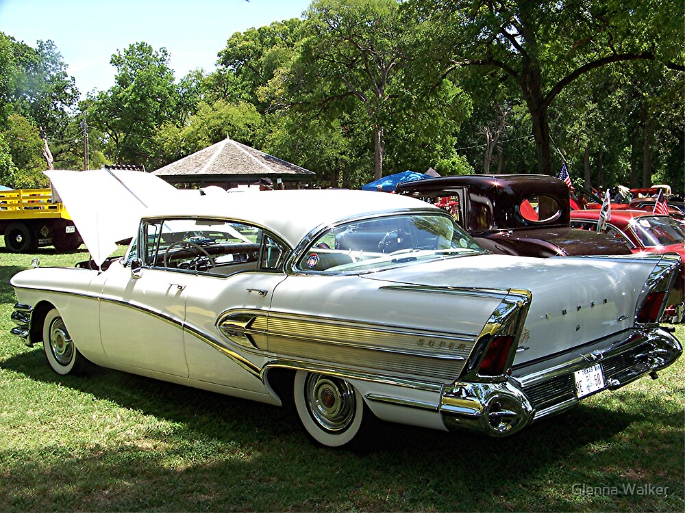 1958 Buick Century by Glenna Walker