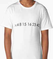 lost fan bad luck numbers Long T-Shirt