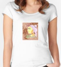 Impressionistic Frida Women's Fitted Scoop T-Shirt