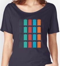 Tardis Pattern A Women's Relaxed Fit T-Shirt