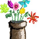 Summer Flowers by fuzzydragons