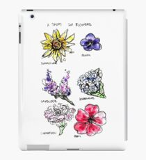 A Study in Flowers iPad Case/Skin