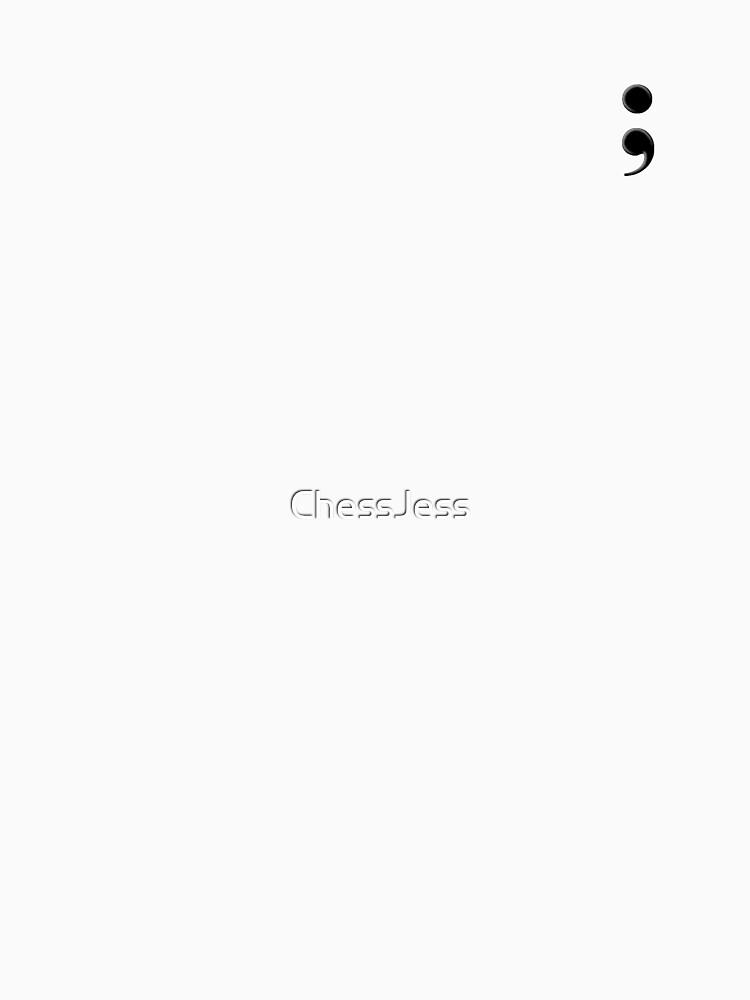 Semicolon by ChessJess