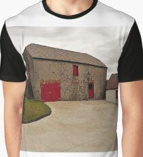 An Irish Barn Graphic T-Shirt
