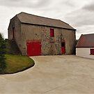 An Irish Barn by Fara