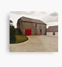 An Irish Barn Metal Print