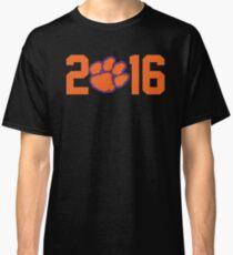 2016 National Champions Clemson Tigers Classic T-Shirt