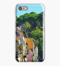 The Balconies And Shutters Of Nice iPhone Case/Skin