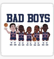 Detroit Bad Boys Sticker