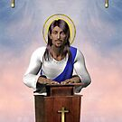 Jesus Loves You (added with gold crosses and gold hearts) by EnchantedDreams