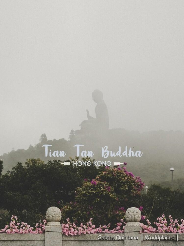 Tian Tan Buddha (Big Buddha) - Hong Kong by gabrielquintana