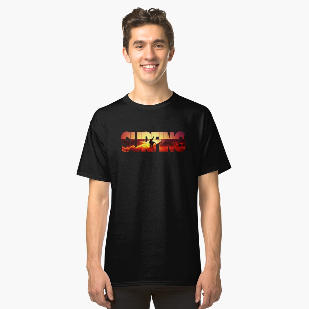 SURFING Classic T-Shirt Front