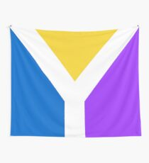 Y Flag Wall Tapestry