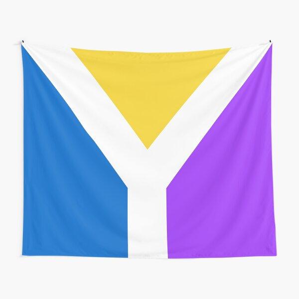 Y Flag Tapestry