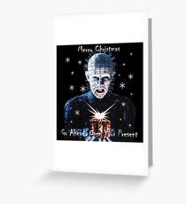 Hellraiser Christmas Greeting Card