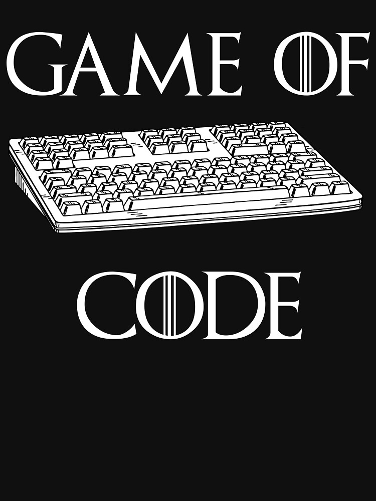 Game Of Code Funny Computer Programmer Shirt by Galvanized