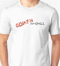 CC-0411 Cmdr. PONDS Aurebesh. T-Shirt