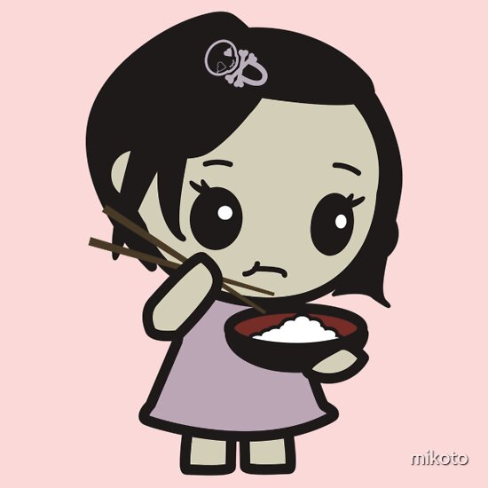 TShirtGifter presents: Rice Girl