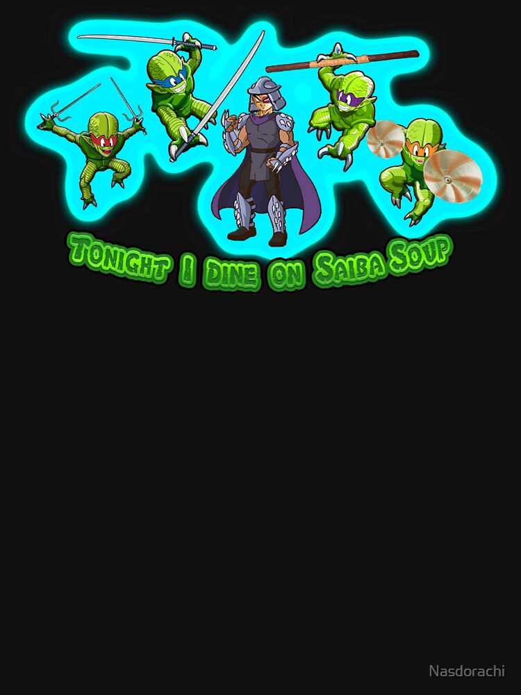 Teenage Mutant Ninja Saibamen by Nasdorachi
